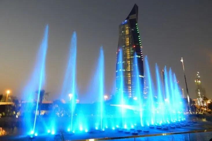 حديقة النافورة الكويت