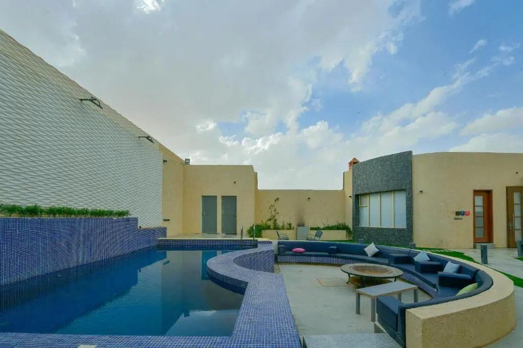 شاليهات في شمال الرياض
