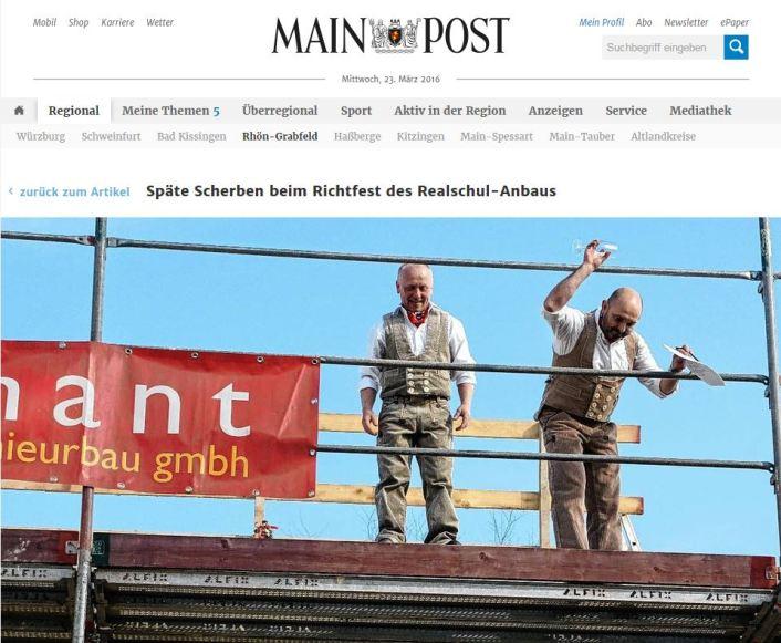 Richtfest-Mainpost