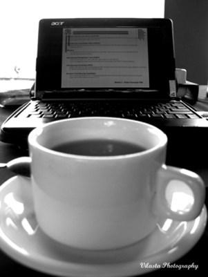 work and coffee