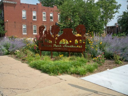 Tower Grove and Chouteau Landscaping