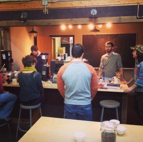 Jessie and the Rise owners go to Goshen Coffee Training.