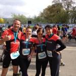 Zurich Marathon Teamrun - Lex Reinhart - Natascha Metzger - Diana Buser - Isabelle Arias