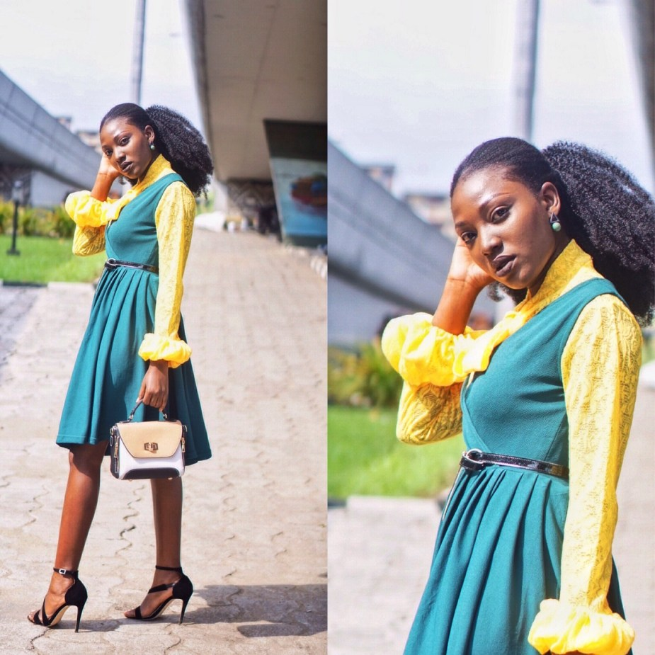Colors To Boost Confidence Green Yello Nigerian Blogger Wumi Tuase