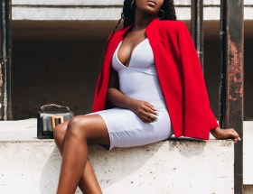 How To Style Valentine's Day Dress Style Blogger Wumi Tuase