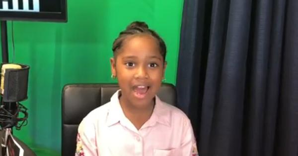 Ani'yah Cotton, 8-year old YouTuber