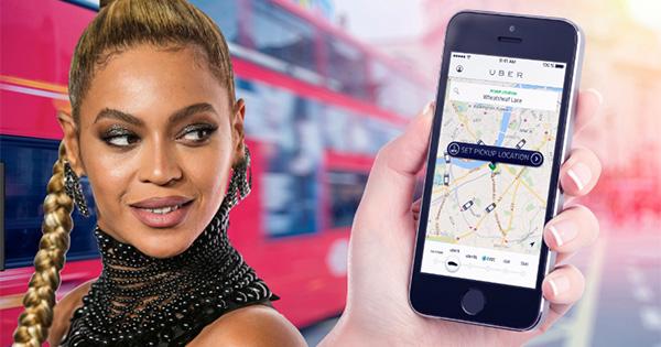 Beyonce and Uber