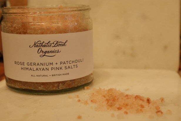 one of my favorites, the himalayan pink salts for the bath