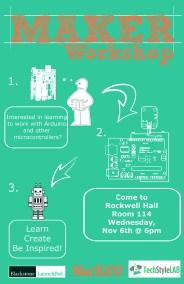 Maker Workshop Poster
