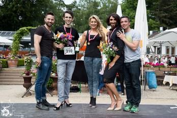 GastRUNomie 2015 - Conchita 4711 und High Heel Run