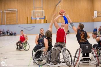 Köln 99ers I - BSC Rollers Zwickau Foto: Steffie Wunderl