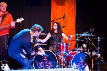 SchlagerMetall live im Theater Am Bauturm Köln. Foto: Steffie W