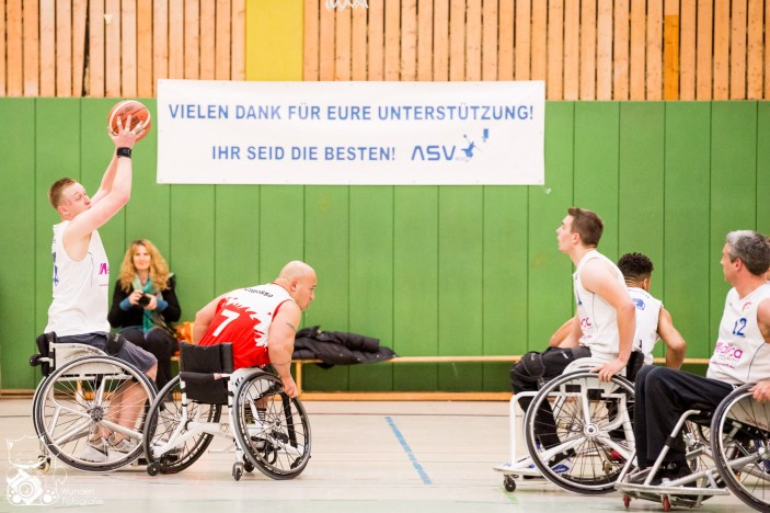 ASV Bonn vs. USC München beim zweiten Heimspiel in Bonn. Foto: Steffie Wunderl