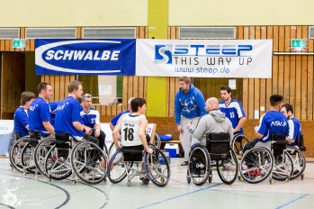Der ASV Bonn gegen den RBC Köln 99ers in Bonn. Foto: Steffie Wunderl