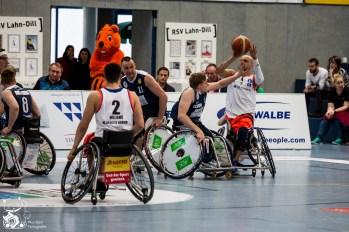 Saison 2016/17: Playoffs RSV Lahn-Dill vs. BG Baskets Hamburg