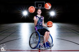 André - Rollstuhlbasketballer