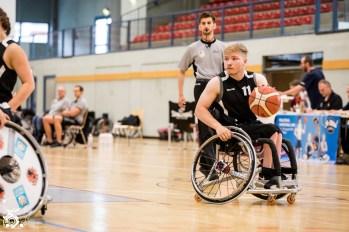 Das Team Nord entscheidet das erste Halbfinale gegen das Team Baden Württemberg / Rheinland-Pfalz mit 43:45 für sich.