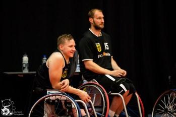 Das Team Germany gewinnt das erste Halbfinale des Dutch Battle 2018 gegen die Türkei mit 55:65. Nieuwegein, NL