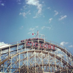 Coney Island Cyclone New York - Wundertute