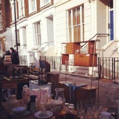 portobello Market Londres - Wundertute