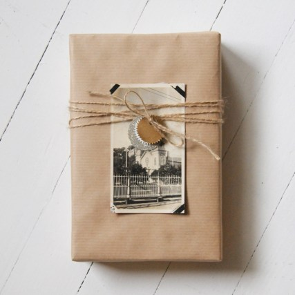 emballage cadeau paper and stitch