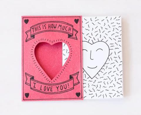 Design Sponge - Valentine's mini-zine