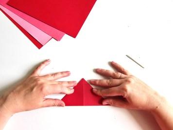 DIY - Fleurs en papier pliage - Wundertute