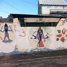 mural tamoul La Reunion - Wundertute