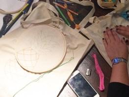 Atelier DIY Mother Lille broderie totebag - Wundertute