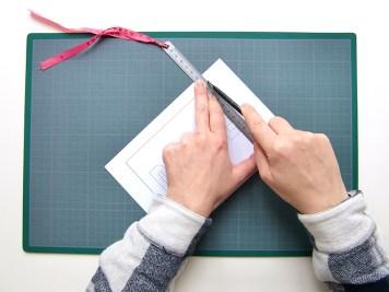 DIY - carte confetti coupe contour - Wundertute