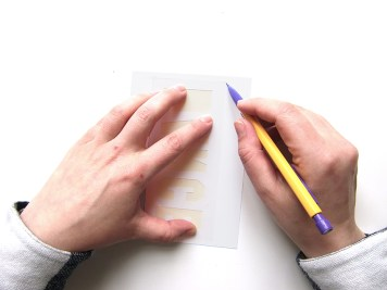 DIY - carte confetti fond - Wundertute