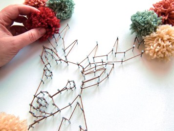 DIY - tableau au fil 16 - wundertute