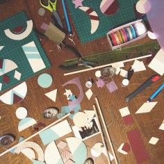 diy - atelier mobile geometrique - wundertute