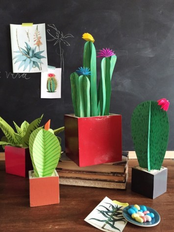 the house that lars built - cactus paper