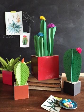 the house that lars built - cactus paper