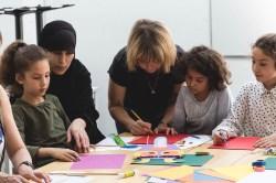 atelier enfants masques vue - wundertute