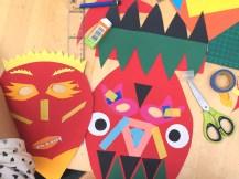 atelier masque papier enfant lille - wundertute