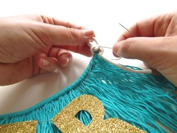 DIY - banderole de fete - wundertute fil or 2