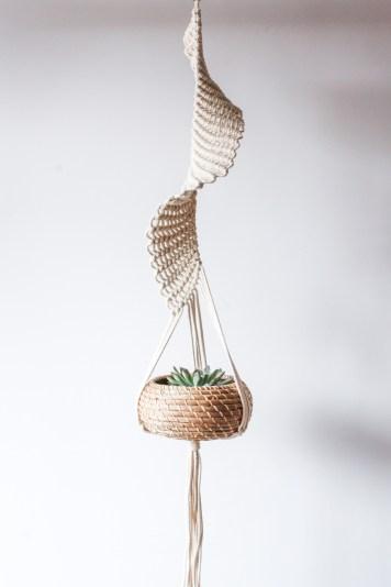 ana morais - bliss macrame plant hanger