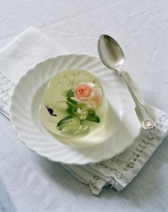 serie 2 - Flower jelly for Italian Vogue. Photography by Tim Walker. Jelly by Rhea Thierstein