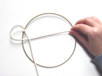 DIY - macrame cercle - C2