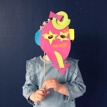 masque papier wundertute 2