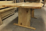 WunderWoods spalted maple live natural edge table legs
