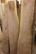 WunderWoods walnut natural live edge slab table top