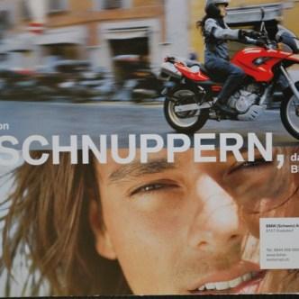 Mobilität: Schnupperkurs-Bewerbung für BMW Motorrad