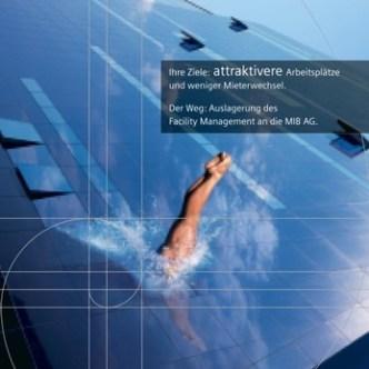 Immobilien: Fachzeitschriften-Inserat für Facility Management der MIBAG