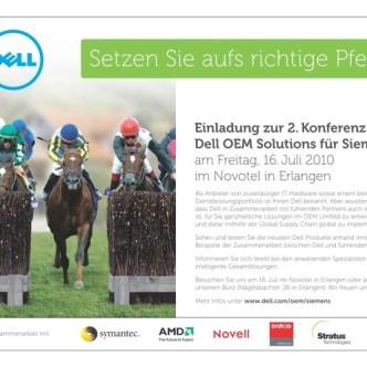 IT Computer: B2B-Einladungsmailing für Dell Computer und Partner