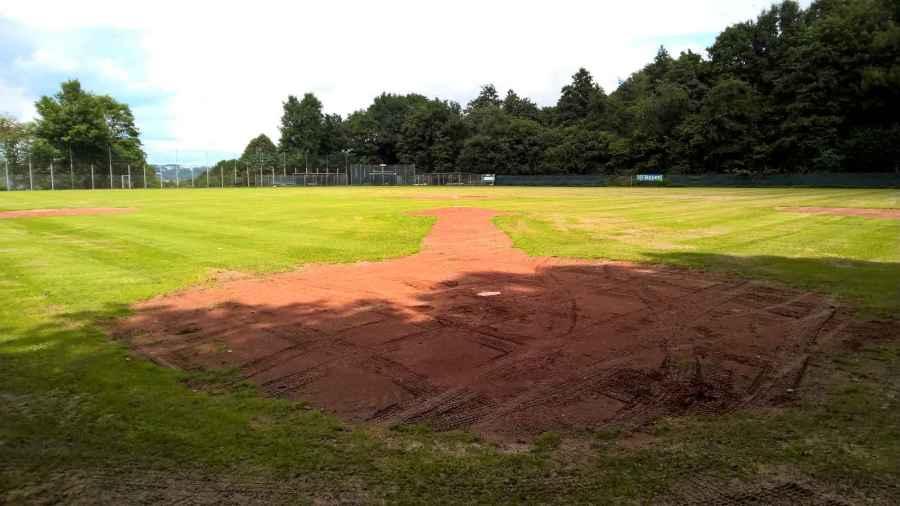 Wuppertal Stingrays Ballpark Juli 2017