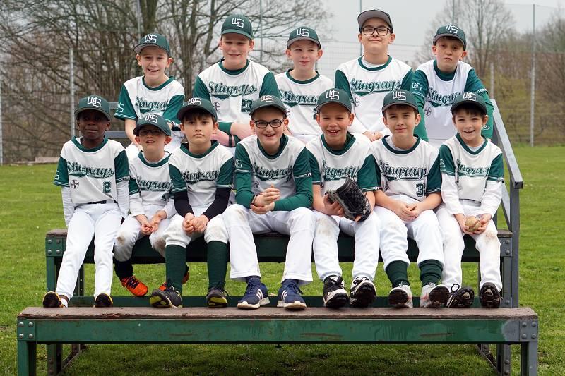 Baseball Wuppertal Stingrays Schüler 2019