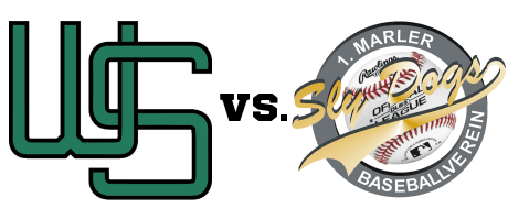 Baseball - Wuppertal Stingrays vs. Marl Sly Dogs